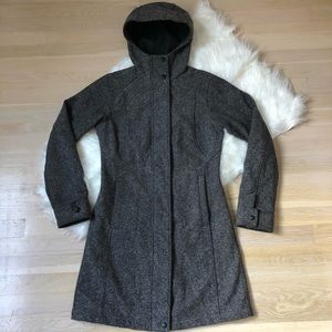 Columbia Tweed Peacoat Jacket Size Small